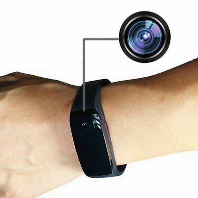 HD 1080P Bracelet Smart Watch Wristband Camera Mini Spy Hidden Video Recorder US