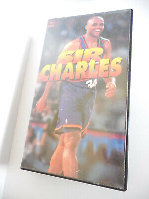NBA VIDEO CHARLES BARKLEY - SIR CHARLES - SONY RECORDS VHS Japan release