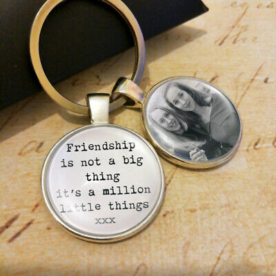 Personalised Best Friend Keyring Birthday Gifts Keychain Friendship Presents BFF