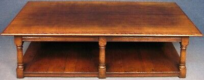 Titchmarsh And Goodwin King Size Solid Oak Coffee Table