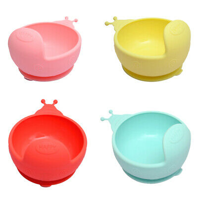 100% Silicone For Kids Baby Silicone Baby Plate With Suction Cup 15*12*8.6cm