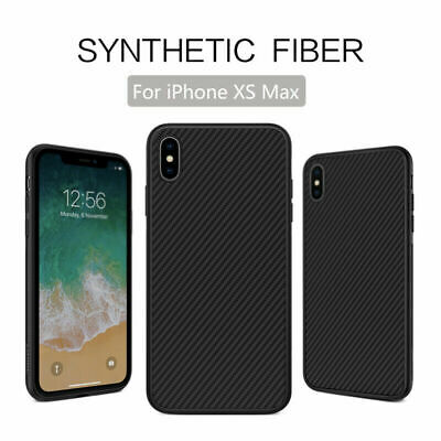 Carbon Fibre Soft TPU Silicone Slim Case Cover For iPhone 8 7 6S Plus XS Max XR