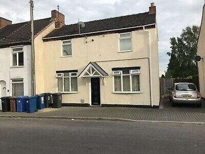 2 Bedroom Semi Detached House For Sale Burnt wood Staffordshire Investment