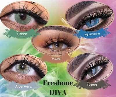 Freshtone Diva colored contact lenses, colour lenses,contact lenses FROM UK