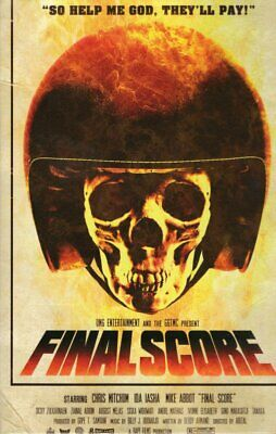 Final Score Large Hardbox DVD OMG Entertainment Ltd Ed with poster and booklet