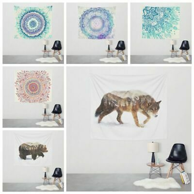 Indian Ombre Mandala Tapestry Wall Hanging Bedspread Throw Dorm Tapestries Large