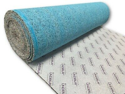 Quality 11mm Thick Carpenters Deepstep Underlay   UK Manufactured   Order per m2