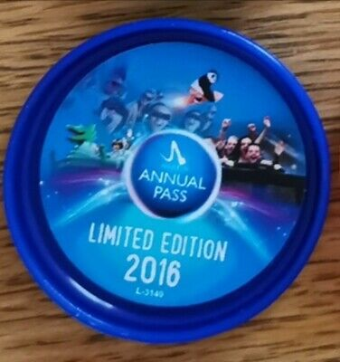 Merlin POP badge. 2016 Annual Pass Limited Edition