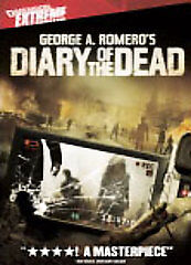 CLEARANCE SALE! George A. Romero's Diary of the Dead (DVD, 2008)