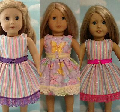 "18"" Doll Dress fits 18 inch American Girl Doll Clothes 56abc"