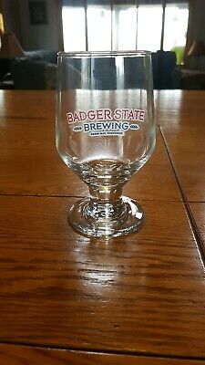 Badger State Brewing Beer Brewery Glass Green Bay Wisconsin