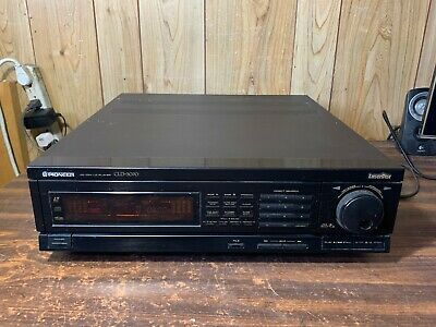 Pioneer CLD-3070 LaserDisc Player PARTS/AS-IS. Vintage - 1989