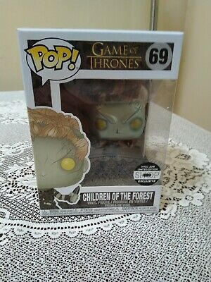 Game of Thrones Children of The Forest Metallic Pop HBO Exclusive COTF Confirmed