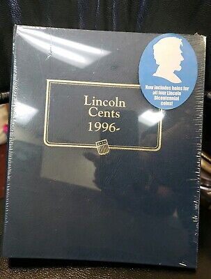 Whitman Classic Coin Album Lincoln Cents 1996-   #2235