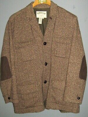 38fbe88491bd REAL MAGEE DONEGAL Tweed 2 Button 44S Gray/Brown Irish Wool Sport ...