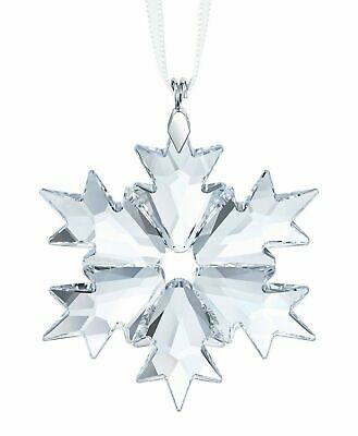 NIB Swarovski Holiday Crystal Figurine, Little Snowflake Ornament 2018 #5349843