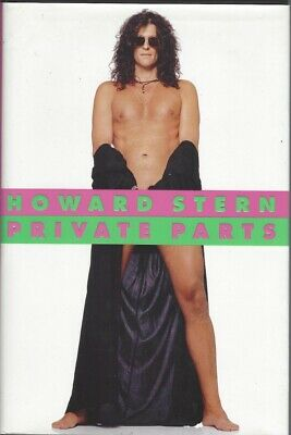 PRIVATE PARTS by HOWARD STERN (1993, HARDCOVER) BOOK WITH DUST JACKET * NM