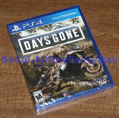 Days Gone (PlayStation 4) ************BRAND NEW & FACTORY SEALED************ ps4