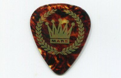 BRUNO MARS 2017 24K Magic Tour Guitar Pick!!! Bruno's custom concert stage Pick