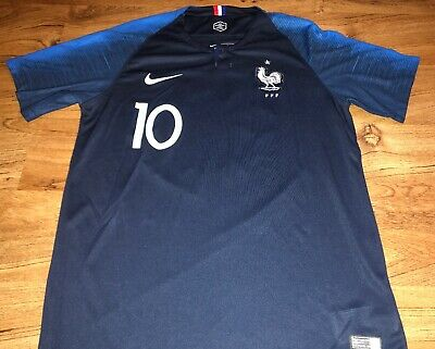 info for 68c29 8df38 NIKE DRI FIT Mbappe France National Team Jersey Size LARGE
