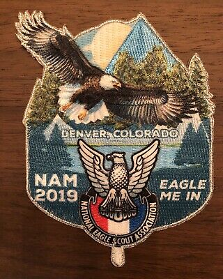 2019 NATIONAL ANNUAL BSA Meeting NESA Eagle Scout Official Patch