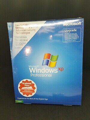 Microsoft Windows XP Professional with Service Pack 2 (SP2) - Upgrade - NEW
