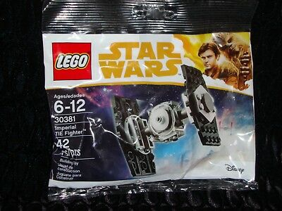 LEGO STAR WARS 30381 Imperial TIE Fighter BNIP Sealed Polybag
