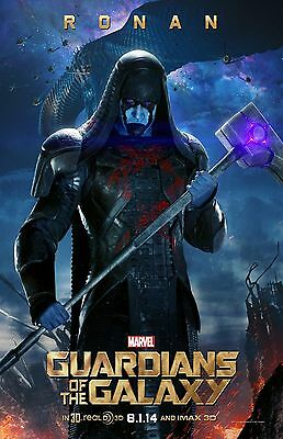 Guardians Of The Galaxy movie poster - Ronan poster - 11 x 17 inches