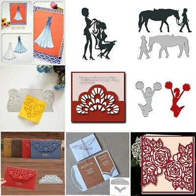 Various Types metal cutting dies Stencil Embossing DIY Album Paper Card Craft SA