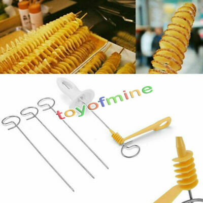 Tornado Potato Spiral Stainless Cutter Slicer Chips French Fries Steel Twister
