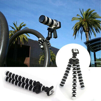 Octopus Flexible Tripod Mount Stand for Gopro hero 3 3+ 4 5 6 Action Phone AU