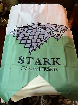 GAME OF THRONES – STARK HOUSE BANNER 30'x50' INCHES -  OFFICIALLY LICENSED