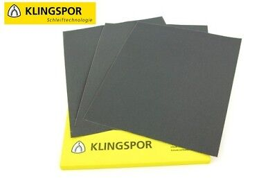 WET AND DRY SANDPAPER KLINGSPOR  WATERPROOF SAND PAPER Grit 60-2500