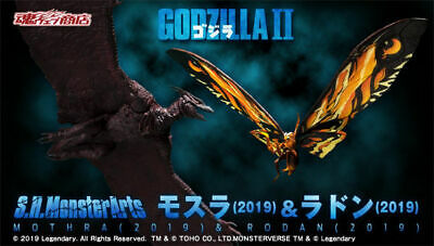 S.H.MonsterArts Mothra 2019 & Rodan 2019 figure by GODZILLA king of the monsters