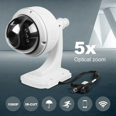 1080P HD Wireless IP Camera Home Security Smart WiFi CCTV Night Vision IR Cam