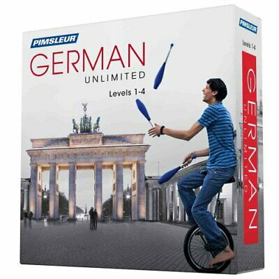 Pimsleur German Levels 1-4 Unlimited Software Pimsleur. the Art... 9781442369535