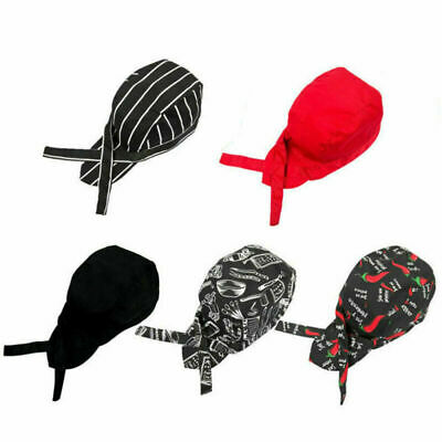 Colorful Pirates Chef Cap  Various Chef Hat Professional Catering Cap