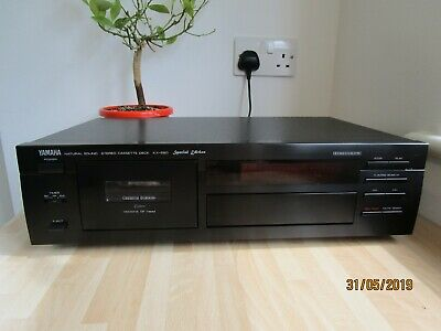 YAMAHA KX-580 SE Stereo Cassette Deck with Dolby S