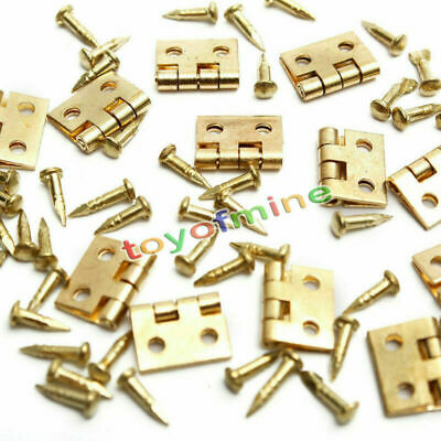20pcs Mini jewelry Box Repairing/ Doll House/ Cabinet/ Drawer Butt Hinges