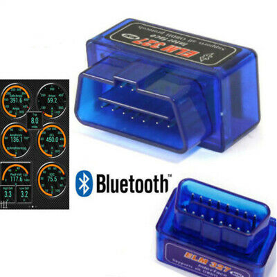 OBD2 Super Mini ELM327 V2.1 Bluetooth Voiture Scanner Outil de Scan auto Android