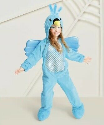 6c4f5f39e782 NEW Hummingbird Toddler Kid's Plush Costume Hyde And Eek Target Size 2T-3T  Blue