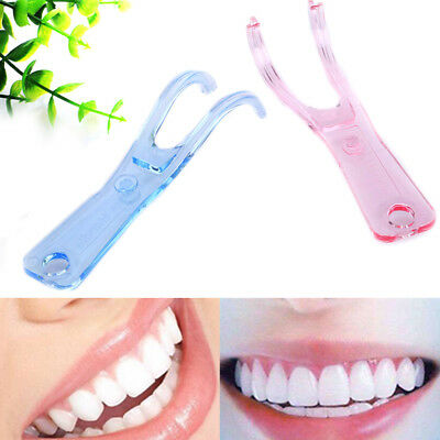 1Pc Dental floss holder oral picks teeth care dental convenient teeth cleaning;