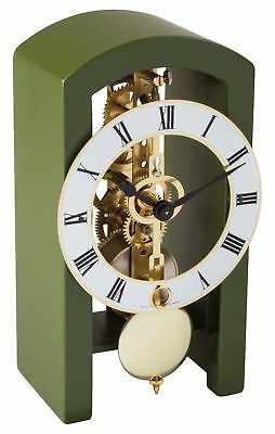 Hermle -boston 18cm Green 23015-S50721 High Quality Analog Table Clock With Schl