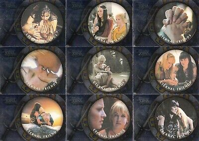 The Quotable Xena 2003 Rittenhouse Archives Eternal Friends Insert Card Set Of 9