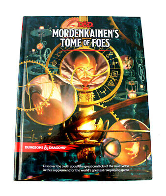 Dungeons and Dragons Mordenkainen's Tome of Foes 5th Edition D&D RPG 2018