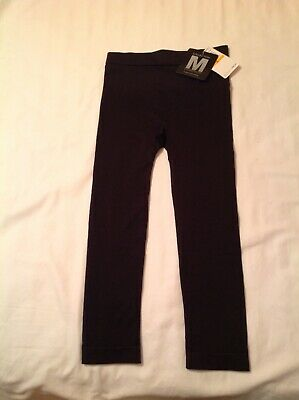 NEW W/TAGS OS Maidenform Collection Firm Control Capris Leggings Black Size S/70