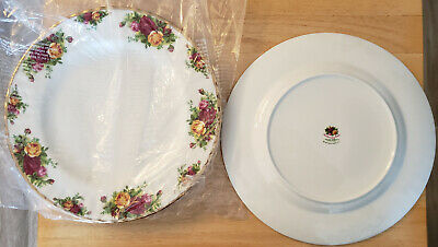 New Royal Albert Old Country Roses Bone China Dinner Plate
