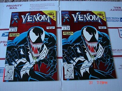 Venom Lethal Protector #1. Red foil cover. VF condition. 1st. Venom solo series.