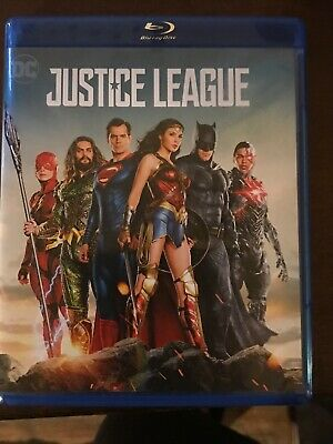 Justice League 2017 Blu-Ray Combo Blu-ray Disc and DVD Only