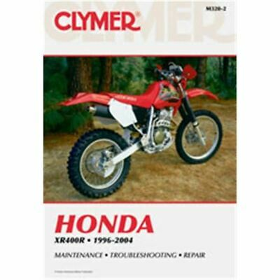 Clymer Dirt Bike Manual - Honda XR400R - HON XR 400R 1996 - 2004